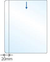 【B5対応】中面ビニールポケット(クリア)