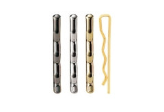 【メニューピン】真鍮製メニューピン半丸型(1本売り)【MTMP-100】