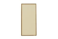 【変形】洋風メニュー用紙(両面にゴールドのライン入り)タテL用