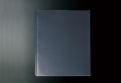 【B4対応】スライド式専用中面ビニール4穴(クリア)