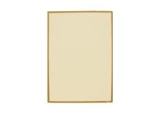 【B4対応】洋風メニュー用紙(両面にゴールドのライン入り)