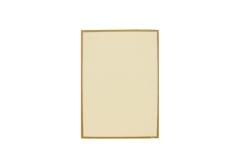 【B5対応】洋風メニュー用紙(両面にゴールドのライン入り)