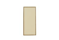 【変形】洋風メニュー用紙(両面にゴールドのライン入り)タテS用