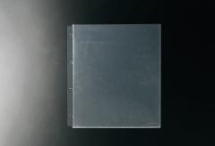 【A4対応】中面ビニールポケット4穴(クリア)/1