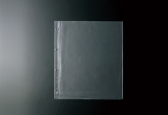 【A4対応】中面ビニールポケット4穴(クリア)【MTBP-A41】