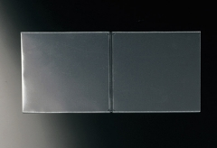 【A4横対応見開き】中面ビニールポケット(梨地エンボス)
