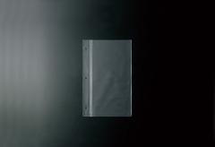 【変形タテS】ホック式専用中面ビニール3穴(クリア)【MTBP-S3】