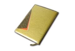 【A4/4P】高級和紙メニュー 外カバー付き(ひも綴じ)