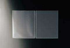 【B5対応見開き】中面ビニールポケット(梨地エンボス)【MTPP-B5】
