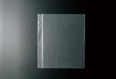【A4対応】ホック式専用中面ビニール4穴(クリア)
