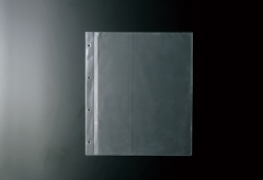 【A4対応】ホック式専用中面ビニール4穴(クリア)【MTBP-A44】